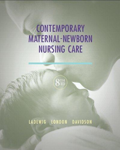 Contemp.Maternal Newborn Nurs.Care