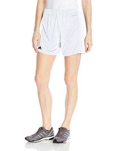 - adidas Women's Soccer Tastigo 17 Shorts, White/White, XX-Small