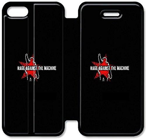 Funda iPhone 6 6S Plus 5.5 Inch Caso De Cuero [BONITO REGALO Buen Presente] [Rage Against The Machine F3T0B ] La caja del teléfono protector para iPhone 6 6S Plus 5.5 Inch