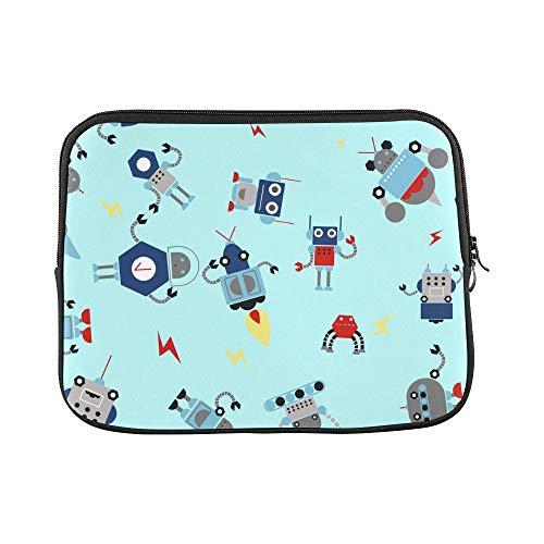 (Design Custom Robotics Animation Intelligence Sleeve Soft Laptop Case Bag Pouch Skin for Air 11