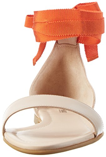 HUGO Felix 10195626 01, Sandalias con Cuña para Mujer Beige (Light Beige 271)