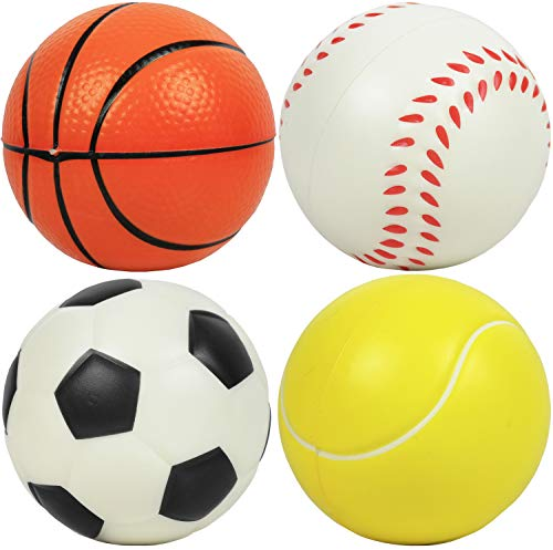(Kiddie Play Set of 4 Soft Balls for Toddlers 4