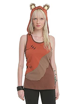Star Wars Her Universe Ewok Hooded Tank (Small)