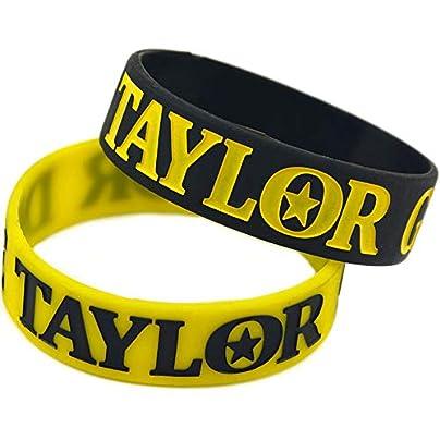 Hjyi Silicone Wristbands Rubber Bracelets Taylor Gang Die Taylor Gang Soft Silicone Bracelet Hiphop Music Wrist Band Estimated Price £21.99 -
