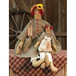 Heart of America Madison & Maddie Primitive Doll