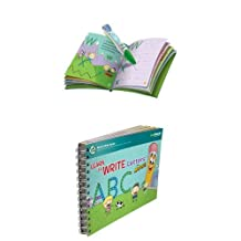 LeapFrog LeapReader Reading and Writing System, Green + LeapFrog LeapReader Book: Learn to Write Letters with Mr. Pencil Bundle