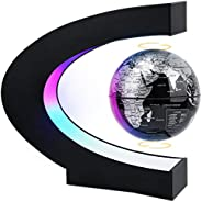 MOKOQI Magnetic Levitating Globe with LED Light, Cool Tech Gift for Men Father Boys, Birthday Gifts for Kids,