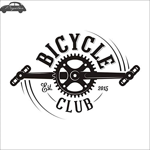 58x84cm Bike Bicycle Shop Service Sticker Bicycle Cycling Car Decal Posters Vinyl Wall Decor Mural Sticker  (color Name , Size  58x84cm)