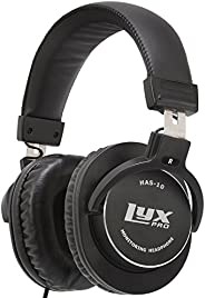 LyxPro HAS-10 Closed Back Over Ear Professional Studio Monitor And Mixing Headphones,Music Listening,Piano,Sou