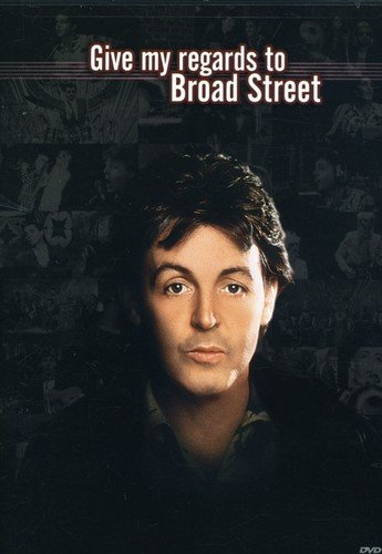 DVD : Paul McCartney - Give My Regards to Broad Street (Full Frame, Widescreen, Sensormatic)