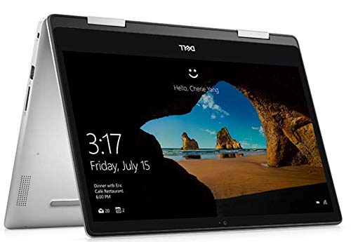 DELL Inspiron 5491 2in1 Touchscreen 14-inch Laptop (10th Gen Core i5-10210U/8GB/512GB SSD/Window 10 + MS Office/Integrated Graphics), Silver