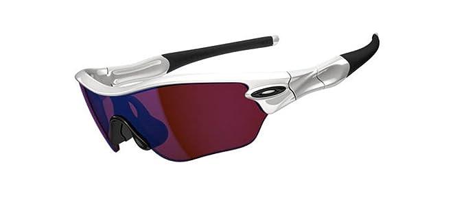 oakley radar edge womens sunglasses  oakley radar edge women's sunglasses polished white/g30 iridium