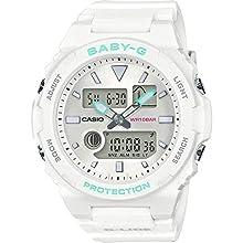 Casio Reloj Analógico-Digital para Mujer de Cuarzo con Correa en Plástico BAX-100-7AER