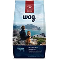 Wag Dry Dog Food Beef & Lentil Recipe With Wild Boar (30 Lb. Bag)