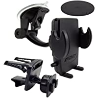 Arkon Car Phone Holder Mount for iPhone X 8 7 6S Plus 8 7 6S Galaxy Note Retail Black