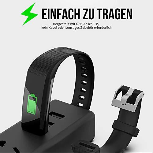 MROTY Fitness-Tracker, Damen- und Herren-Fitness-Uhr, wasserdichte Multifunktions-Smartwatch - Herbst 2020