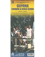GUYANA SURINAME & FRENCH GUIANA - LES GUYANES