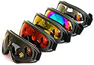 Dplus Ski Snowboard Snowbike Goggles Motorcycle Goggles Outdoor Sports Dust-Proof Glasses