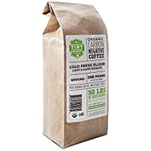 Tiny Footprint Coffee Organic Cold Brew Cold Press Elixir, Ground Coffee, 1 Pound