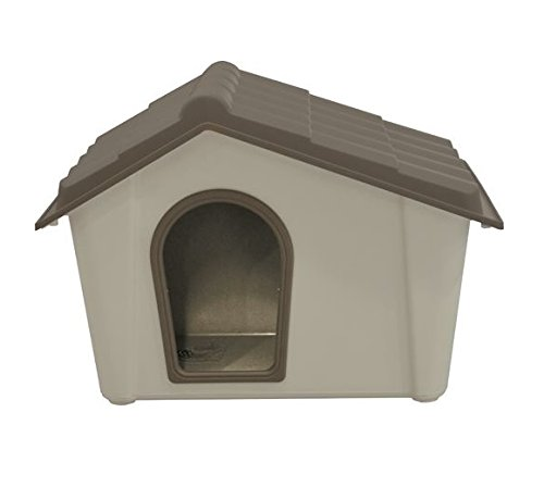 For Dog Kennel in Resin Taupe Beige 79 x 59 x 60hcm D