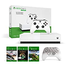 Xbox One S All Digital Console + Phantom White Xbox One Controller