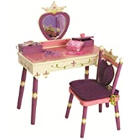 Wildkin Princess Vanity Table & Chair Set