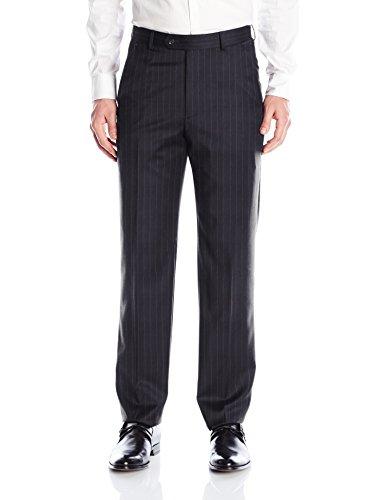 Palm Beach Men's Cole Suit Seperate Pant, Navy Stripe, 32W Regular