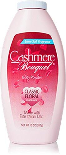 Cashmere Bouquet Body Powder, 10 Ounce (Classic Bouquet)
