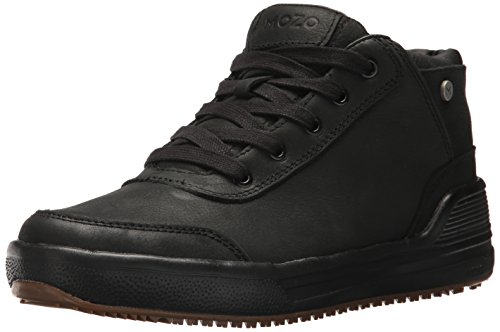 MOZO Men's Natural Sneaker, Black, 9 M US