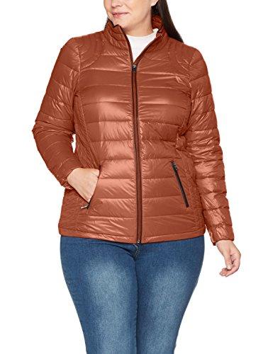 Ls 1632 zizzi Blouson Brown Jacket Copper Femme Braun TnZOSwq6