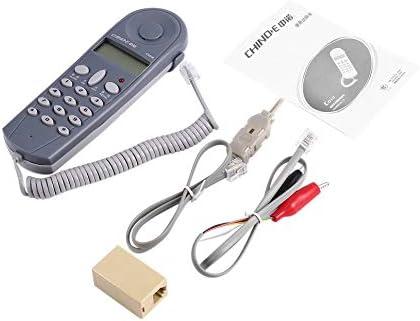 電話電話突合せテストテスターラインマンツールネットワークケーブルセットネットワークケーブルテスターコネクタとジョイナーC019