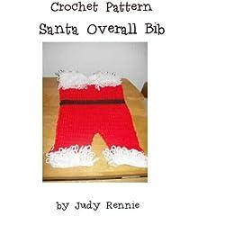 Crochet Pattern - Santa Overall Bib