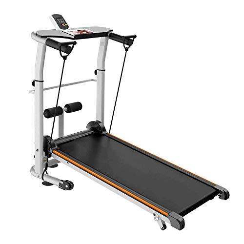 Folding loopband, 2 in 1 walking Joggen Machine Trainer Apparatuur for Home Gym, 1.75HP met afstandsbediening Speaker…