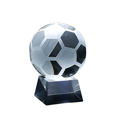 DinQ Mini Football Crystal Ball for Home,Office Decoration,Balcony Decor,Holiday Gift (Style1) by DinQ