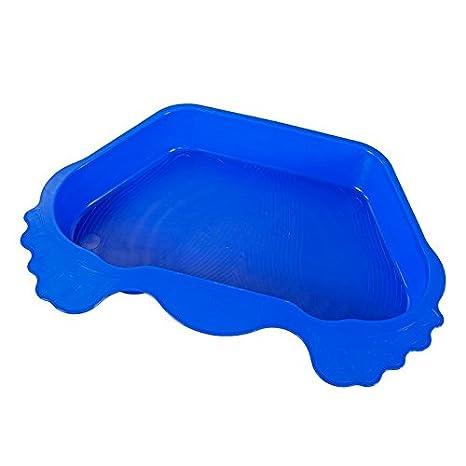 Kapazit/ät: ca Farbe: Blau Anti-Rutsch Boden reduziert deutlich den Schmutz im Pool Deuba/® Fu/ßbad Fu/ßwanne Pool Schwimmbecken Schwimmbadzubeh/ör 12 Liter