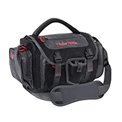 Upgrade your fishing companion with the roomy and rugged Ugly Stik Medium Tackle Bag, featuring a variety of compartments and pockets to keep all your angling essentials efficiently organized and close to hand. This soft-sided bag's large mai...
