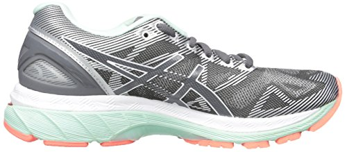 Carbon Asics Running para Nimbus Mujer Flash de 19 Coral Zapatillas Blanco Gel rXrwqC8