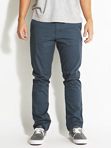 RVCA Men's The Weekend Stretch Chino Pant, Midnight, 32
