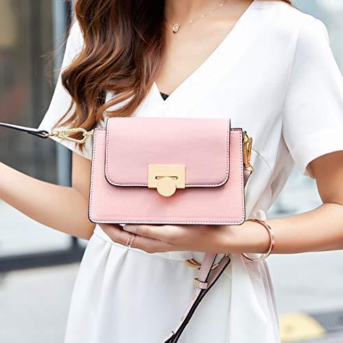messager Sac Pink orgue de bandoulière femme pour carré Sac à sac main pour à Sac Petit pour PU Sac en mode xIqnRnPH