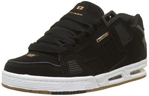 Skate Noir noir 10017 Pour Chaussures Globe Or Hommes De Saber BZTwqg4