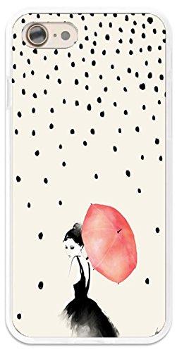 Carcasa para mujer paraguas lunares Xiaomi Mi 5 – Protección flexible
