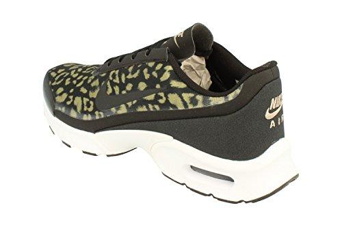 Nike Air Max Stampa Jewell Scarpe Da Ginnastica Da Donna Aa4604 Scarpe Da Ginnastica Nere Kaki Bianco 001