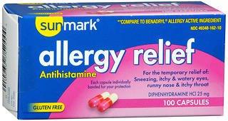 ef Capsules - 100 Capsules (Allergy Relief Capsules)