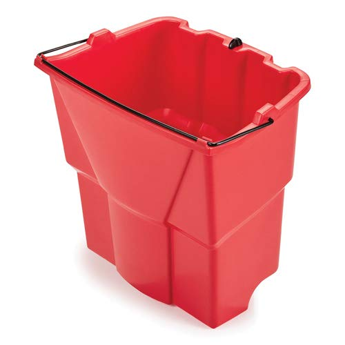 Rubbermaid Dirty Water Bucket for WaveBrake 2.0 Mop Buckets, Red