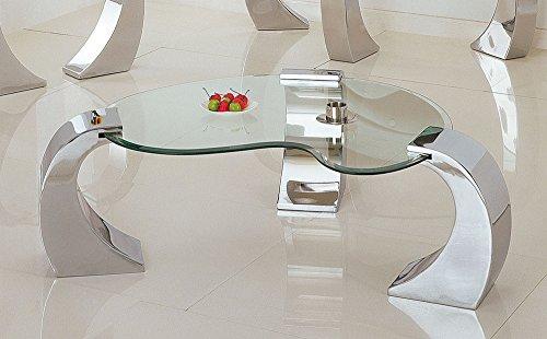 acme 07570 Metro Coffee Table, Chrome