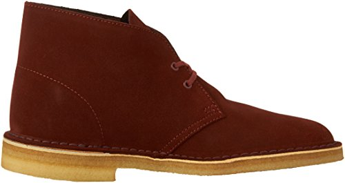 Clarks Uomo Desert Boot Nut Brown Suede 13 M