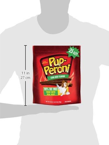 Bocaditos para perros con sabor a carne de res magra original de Pup-Peroni, 25 onzas