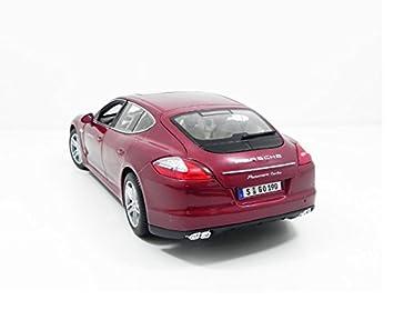 Maisto 36197, Coche Porsche Panamera Turbo (escala 1:18), Rojo: Amazon.es: Juguetes y juegos