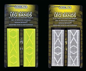 Jogalite Cross Training Reflective Leg bands (pair)