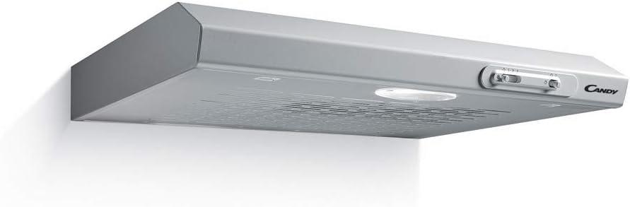 Candy CFT610/3S - Campana Encastrada Gris - 60cm- 185m³/h - Clase D - 64 dBA: Amazon.es: Grandes electrodomésticos